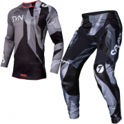 Seven MX Kids Annex Bortz Raider Black Grey Kit Combo