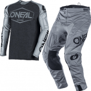 ONeal Mayhem Hexx Grey Black Kit Combo