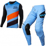 Seven MX Kids Zero Delta Blue Kit Combo