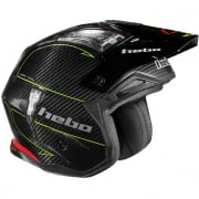 Hebo Zone 4 Carbon ll Fibre Black Trials Helmet