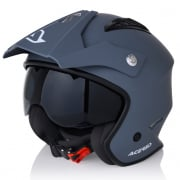 Acerbis Jet Aria Grey Trials Helmet