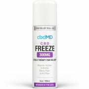 CbdMD CBD Freeze Pain Relief 3oz Roller 300mg