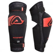 Acerbis 3.0 Soft Black Red Elbow Guards