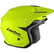 Hebo Zone 5 Mono Lime Trials Helmet