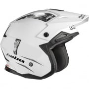 Hebo Zone 4 Mono White Trials Helmet