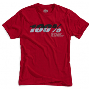 100% Bristol Red T-Shirt
