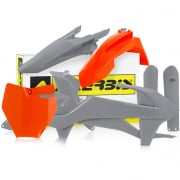 Acerbis Plastic Kit - KTM SXF - Orange Grey