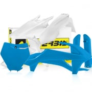 Acerbis Plastic Kit - KTM SX - White Blue