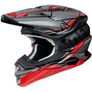 Shoei VFX-WR Allegiant TC1 Red Helmet