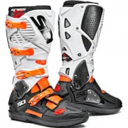 Sidi Crossfire 3 SRS Orange Flo Black White Motocross Boots