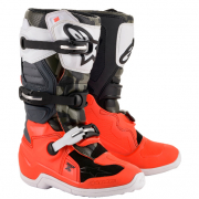 Alpinestars Kids Tech 7S Le Magneto Orange Black Grey Boots