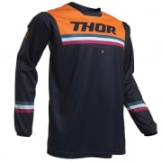 Thor Kids Pulse Air Pinner Midnight Orange Jersey