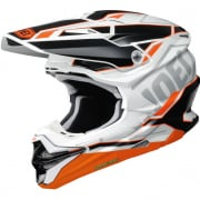 Shoei VFX-WR Allegiant TC8 Orange White Helmet