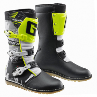 Gaerne Balance Classic White Yellow Black Trials Boots