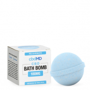 CbdMD Rejuvenate Eucalyptus Hemp Bath Bomb