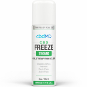 CbdMD CBD Freeze Pain Relief 3oz Roller 750mg
