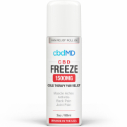 CbdMD CBD Freeze Pain Relief 3oz Roller 1500mg