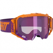 Leatt 5.5 Velocity Iriz Neon Orange Purple Lens Goggles