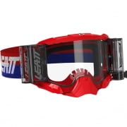 Leatt 5.5 Velocity Red Clear Lens Roll Off Goggles