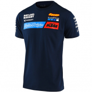 Troy Lee Designs Kids 2020 KTM T Shirt - Navy