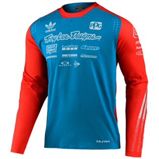 Troy Lee Designs SE Ultra Le Adidas Ocean Jersey