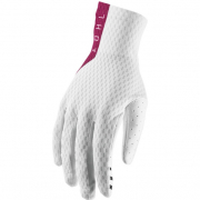 Thor Agile White Maroon Gloves