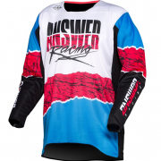 Answer Trinity Pro Glo Ltd Ed HyperBlue Pink Black Jersey