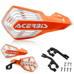 Acerbis X-Future Orange White Handguards