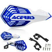 Acerbis X-Future White Blue Handguards