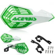 Acerbis X-Future White Green Handguards