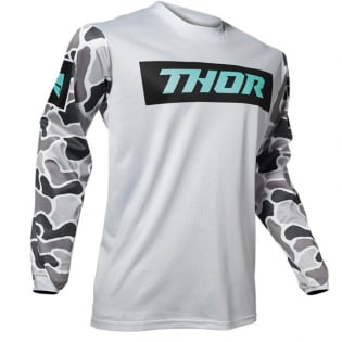 Thor Pulse Air Fire Grey Black Jersey