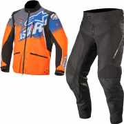 Alpinestars Venture R Orange Black Enduro Suit