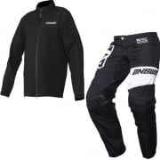 Answer Awol Black White Enduro Suit