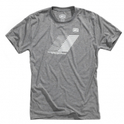 100% Helix Tech Heather Grey T Shirt