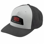 100% Guild X-Fit Grey Snapback Hat