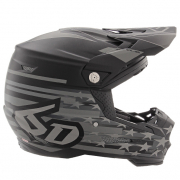 6D ATR-2 Patriot Matte Black Helmet