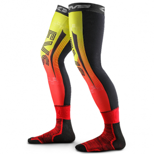 EVS Fusion Hi Viz Red Knee Brace Sleeve & Sock