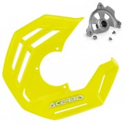Acerbis X-Future Flou Yellow Front Disc Protector - Incl Mount