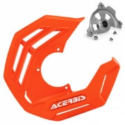 Acerbis X-Future Orange Front Disc Protector - Incl Mount