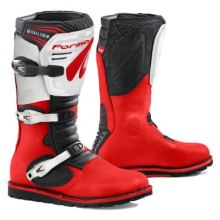 Forma Boulder Trials Boots - Red White