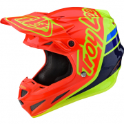 Troy Lee Designs SE4 Composite - Silhouette Orange Yellow