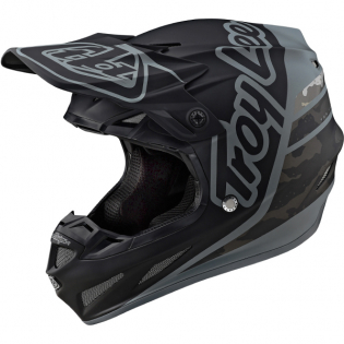 Troy Lee Designs SE4 Composite - Silhouette Black Camo
