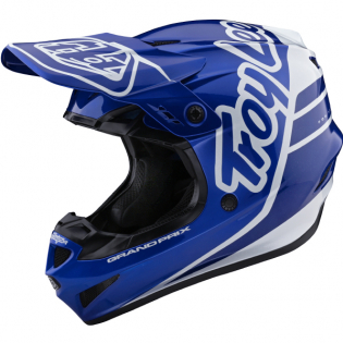 Troy Lee Designs GP Silhouette Navy White Helmet