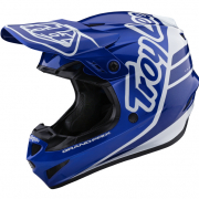 Troy Lee Designs Kids GP Silhouette Navy White Helmet