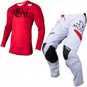Seven MX Rival Biochemical Red White Kit Combo