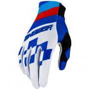 Answer AR-2 Korza Ltd Edition Reflex Hyperblue Red Gloves