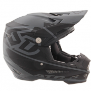 6D ATR-2 Core Black Grey Helmet