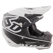 6D ATR-2 Core White Black Helmet
