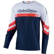 Troy Lee Designs SE Ultra Factory White Navy Jersey