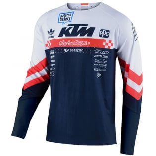 Troy Lee Designs SE Ultra Factory Team White Jersey